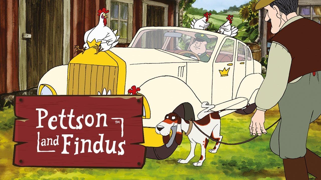 Pettson and Findus - Royal Visit - Full episode (Komplette Folge - Pettersson und Findus)