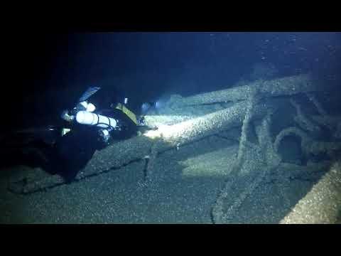 Diving the M.F. Merrick in Lake Huron