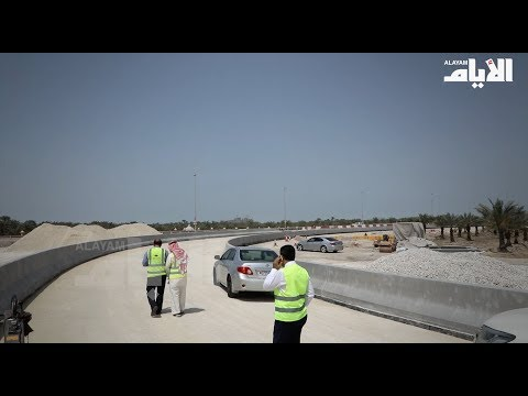 نسبة الانجاز بتقاطع الجسرة بلغت 50%  - نشر قبل 1 ساعة