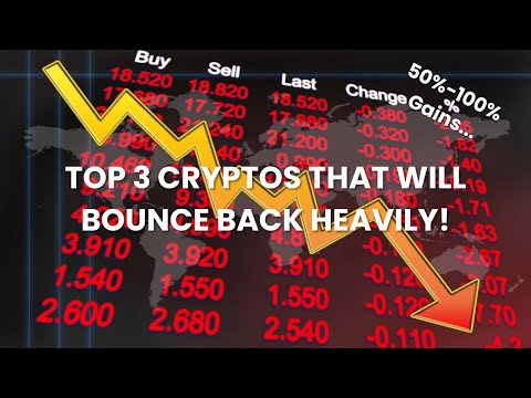 Top 3 Cryptocurrencies to Invest in RIGHT NOW For 50%-100% Gains on red market recovery