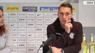 TV Elv // Pressekonferenz - SV Elversberg vs. Waldhof Mannheim / 25.11.16