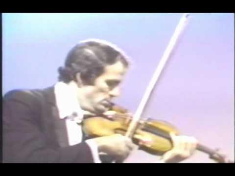 Erick Friedman plays Tambourin Chinois by Fritz Kreisler