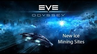 Eve Online Odyssey Update:  Ice Mining Sites