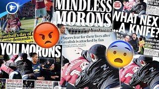 L'agression d'un fan sur Jack Grealish en plein match effraie toute l'Angleterre | Revue de presse
