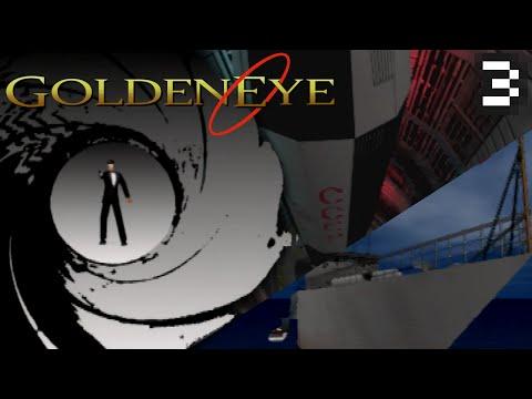 #03: Silo & Frigate | Secret Agent [ Goldeneye 007— N64 ]