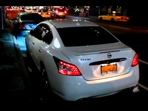 How To Adjust Headlights >> 2011 Nissan Maxima lights update - YouTube