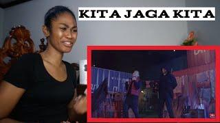 Kita Jaga Kita - Altimet, Cuurley & Malik Abdullah Official Music Video | Reaction