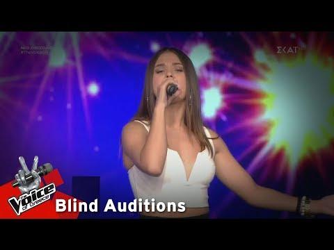 Αθηνά Μάλλια - Πάλι θα κλάψω    12o Blind Audition   The Voice of Greece
