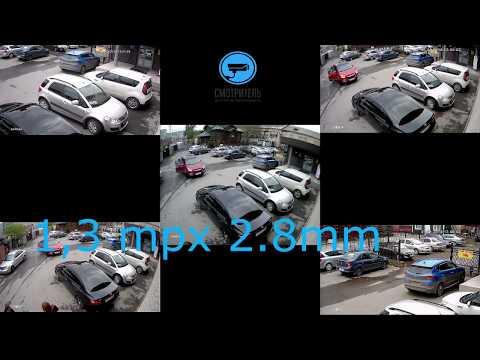 Сравнение обзор камер с разным разрешением и объективами
