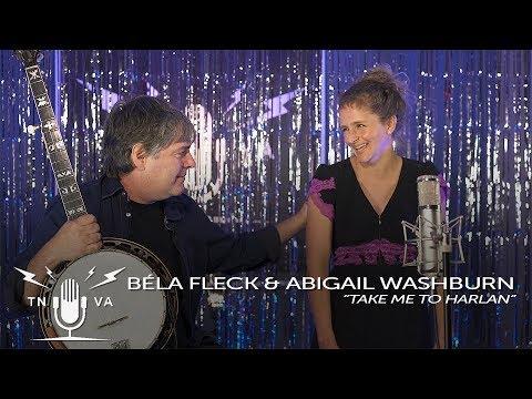 "Béla Fleck & Abigail Washburn - ""Take Me to Harlan"" - Radio Bristol Sessions"