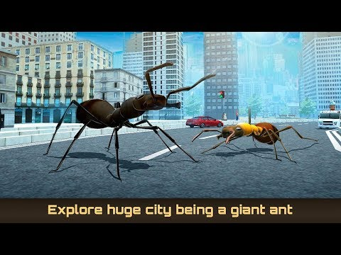 "🐜Giant Ant City Survival Simulator-Симулятор ""Гигантский Муравей ""-By Virtual Animals World-Android"