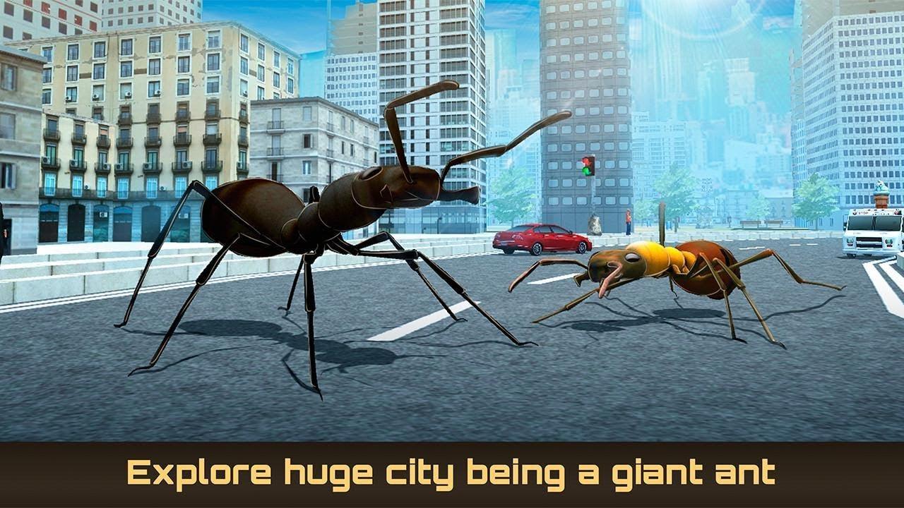скачать симулятор муравья на андроид