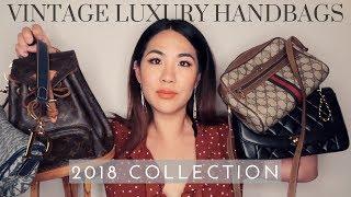 VINTAGE DESIGNER HANDBAG COLLECTION 2018