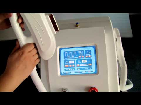 elight+ ipl hair removal machine with different spot--IPL02C .AVI