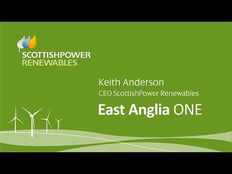 East Anglia ONE Offshore Windfarm - Keith Anderson