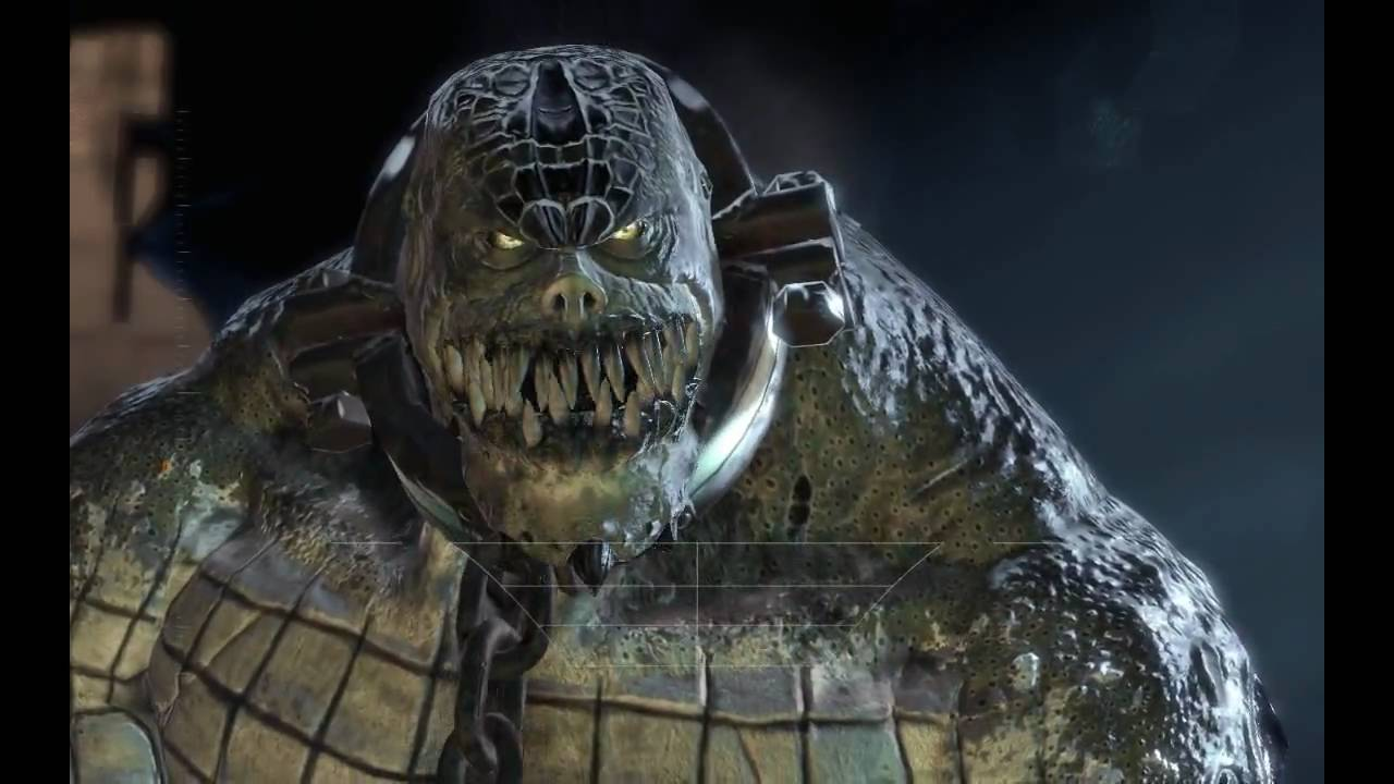 meet killer croc batman arkham city