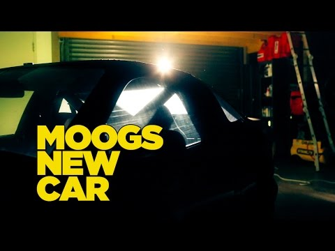 MOOGS NEW CAR!