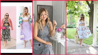 Trucos de Estilo Para Aprender a Vestir  a la  Moda/Vestidos Bonitos/Vestidos Sencillos 2020/