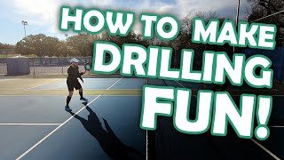 No more boring drills! You'll love this pickleball drilling game!
