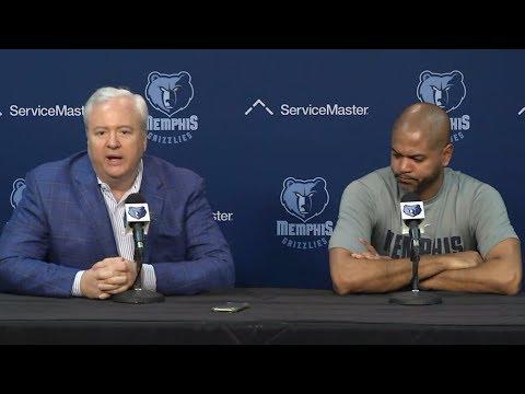 Memphis Grizzlies official news conference after firing David Fizdale | ESPN