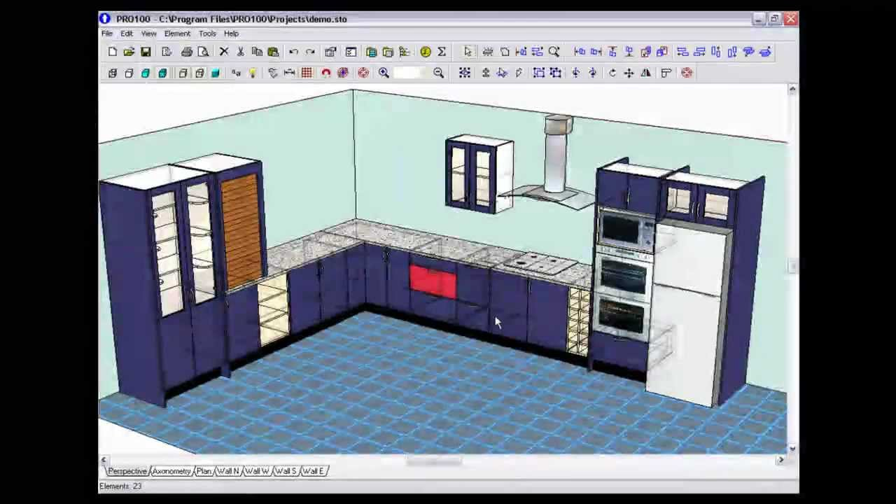 Pro100 3d Design Software Demo V4 Doovi