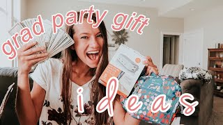 What I Got From My Grad Party! || Graduation Party Gift Ideas
