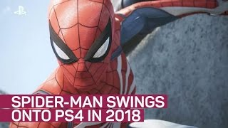 Spider-Man swings onto PS4 in 2018