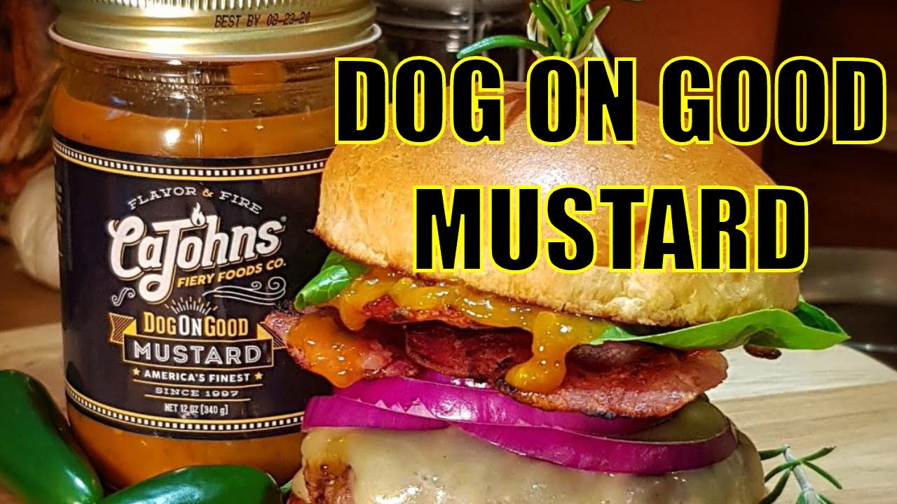 Dog on Good Chilli Mustard from CaJohn's Review