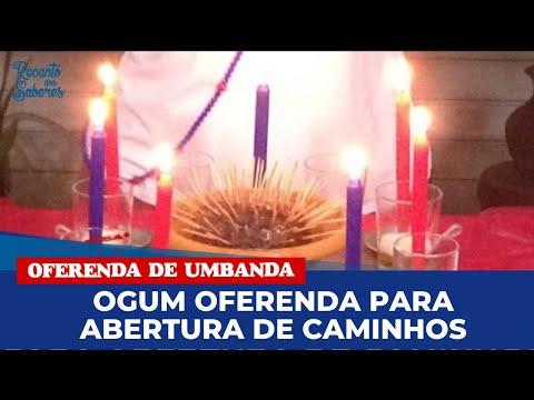 Receita: OFERENDA À OGUM PARA ABERTURA DE CAMINHOS - com Fabiana Carvalho