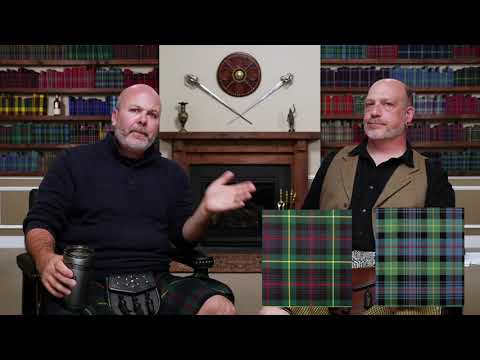 Modern, Ancient, Muted, & Weathered Tartans