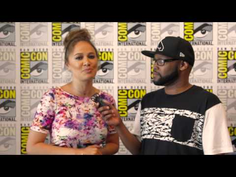 Comic Con 2015:Moon Bloodgood from TNT's Falling Skies