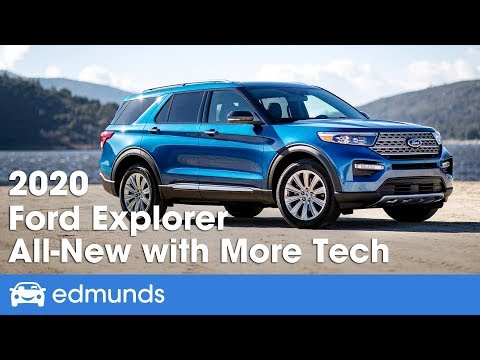 All-New 2020 Ford Explorer - First Look and Details from the 2019 Detroit Auto Show | Edmunds