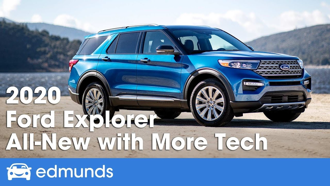 All New 2020 Ford Explorer First Look And Details From The 2019 Detroit Auto Show Edmunds