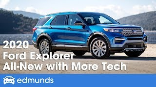 All New 2020 Ford Explorer First Look And Details From The 2019 Detroit Auto Show Edmunds Youtube