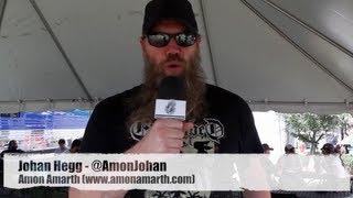AMON AMARTH: Johan Hegg Discusses NEW Album, AA's Evolution, Mayhem Experience & Favorite Drinks!