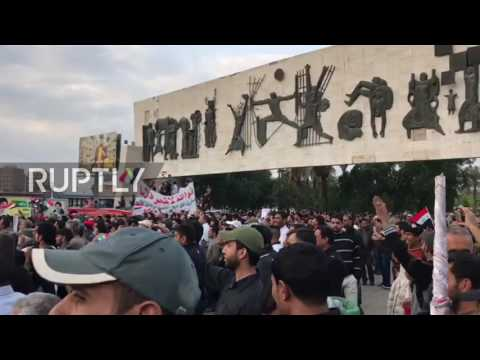 Iraq: Sadr supporters rally in their hundreds against government election committee