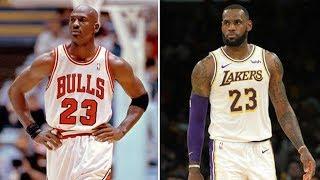 Why Michael Jordan was better than Lebron James