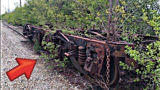 104 Year Old Abandoned Rail Car Reclaimed by Mother Nature