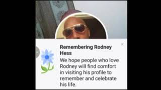 Remember Rodney Hess #sayhisname #blacklivesmatter