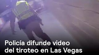Tiroteo en Las Vegas video; difundido por la Policía - En P...
