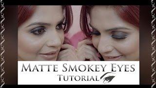 brown smokey eye makeup tutorial for beginners   easy makeup challenge   krushhh by konica