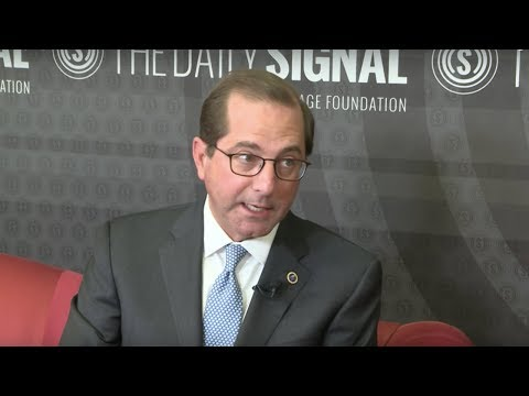 HHS Secretary Alex Azar on 3 Steps to Combating the Opioid Crisis | The Daily Signal