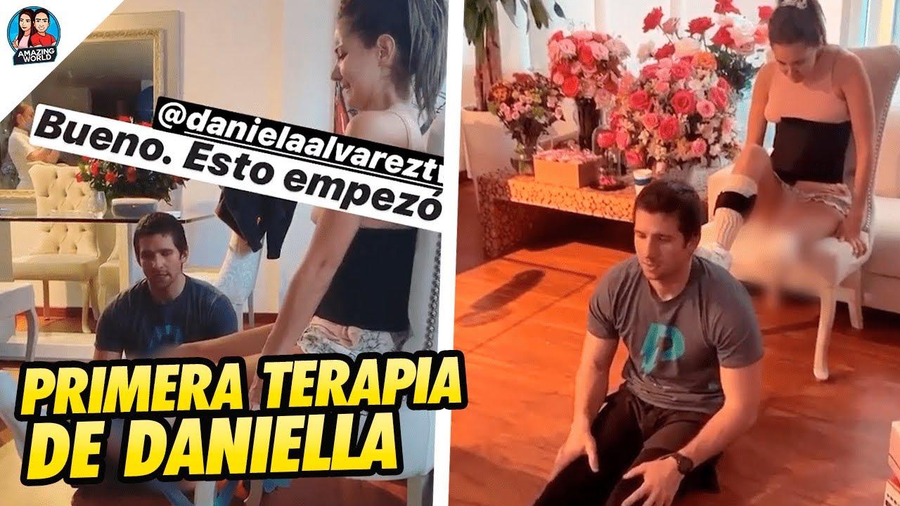 Daniella Álvarez MOSTRÓ sus EXIGENTES TERAPIAS - Mamá de Daniella se PRONUNCIÓ