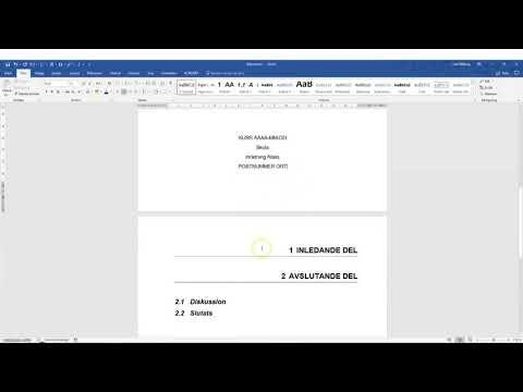 Att skriva en teknisk rapport