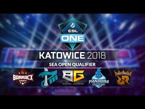 ESL One Katowice : SEA Open Qualifier - Indonesia Dota 2 Teams