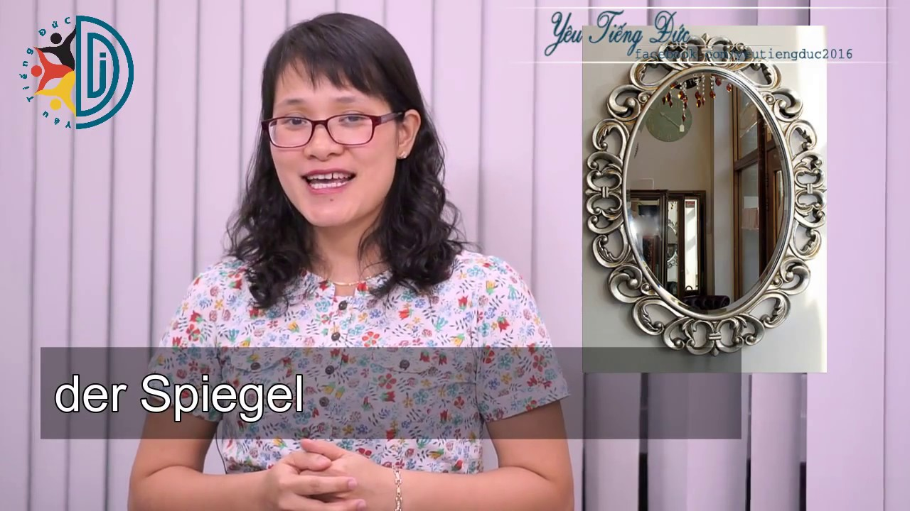 Học tiếng Đức cùng cô Thùy Dương - Bài 8: Trong cửa hàng nội thất