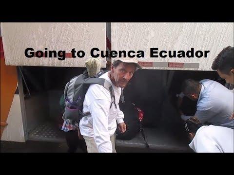 Bus Trip Gone Bad on Way to Cuenca Ecuador - VLOG