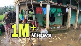 Rural Life in Nepal !Magar Village !