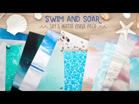 Sky & Water Paper Pack | Creative Memories Australia
