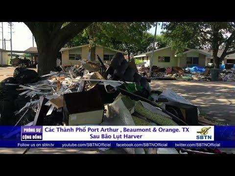 PHÓNG SỰ CỘNG ĐỒNG: Các thành phố Port Arthur, Beaumont và Orange sau bão lụt Harvey